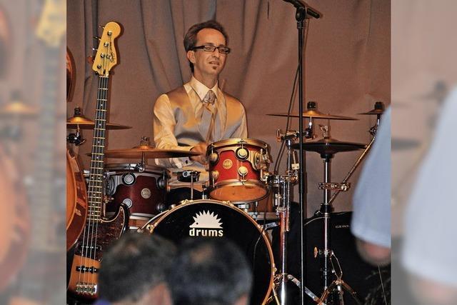 Ein Schlagzeuger mit Leib und Seele