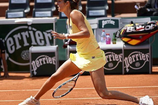 French Open: Julia Görges bezahlt Lehrgeld