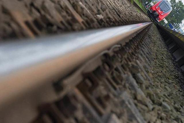Schienen wurden geschliffen – jetzt sind die Züge lauter