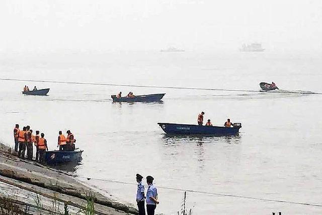400 Vermisste nach Schiffsunglück auf dem Jangtse