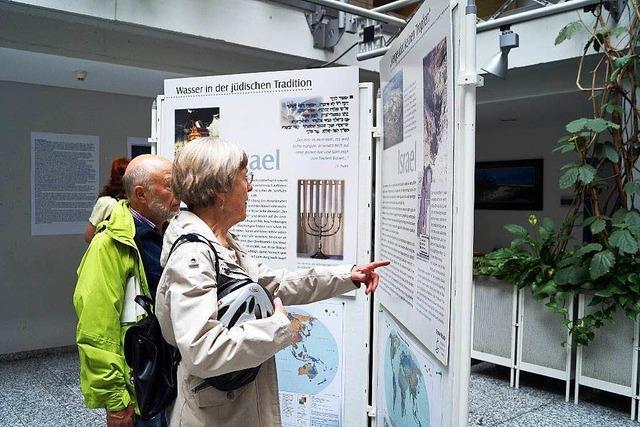Ausstellung über das Wasser