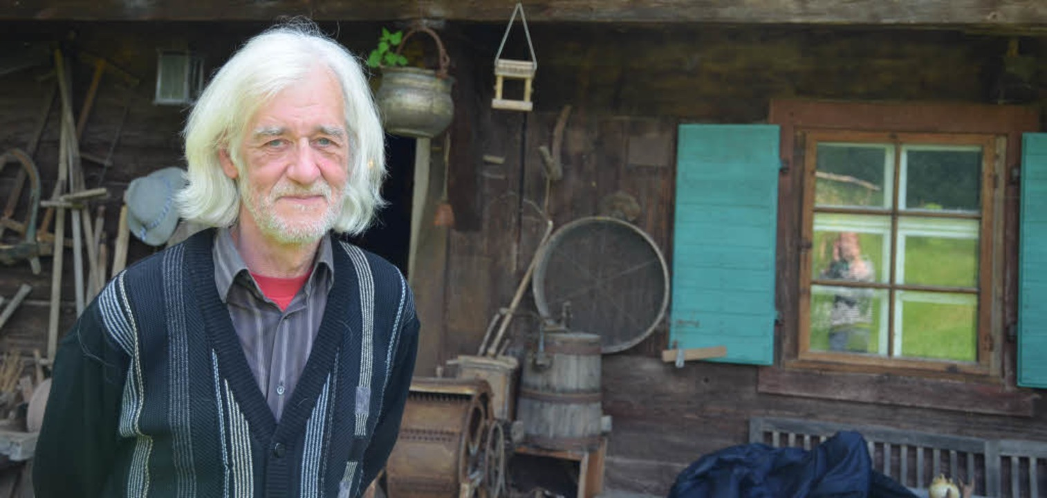 Theatermacher Dietmar Berron-Brena org...t Veranstaltungen im Ortsteil Mulden.     Foto: Gabriele Hennicke