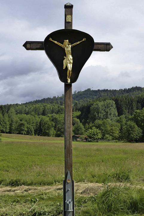 Wegkreuz auf der Zelg  | Foto: Verena Pichler