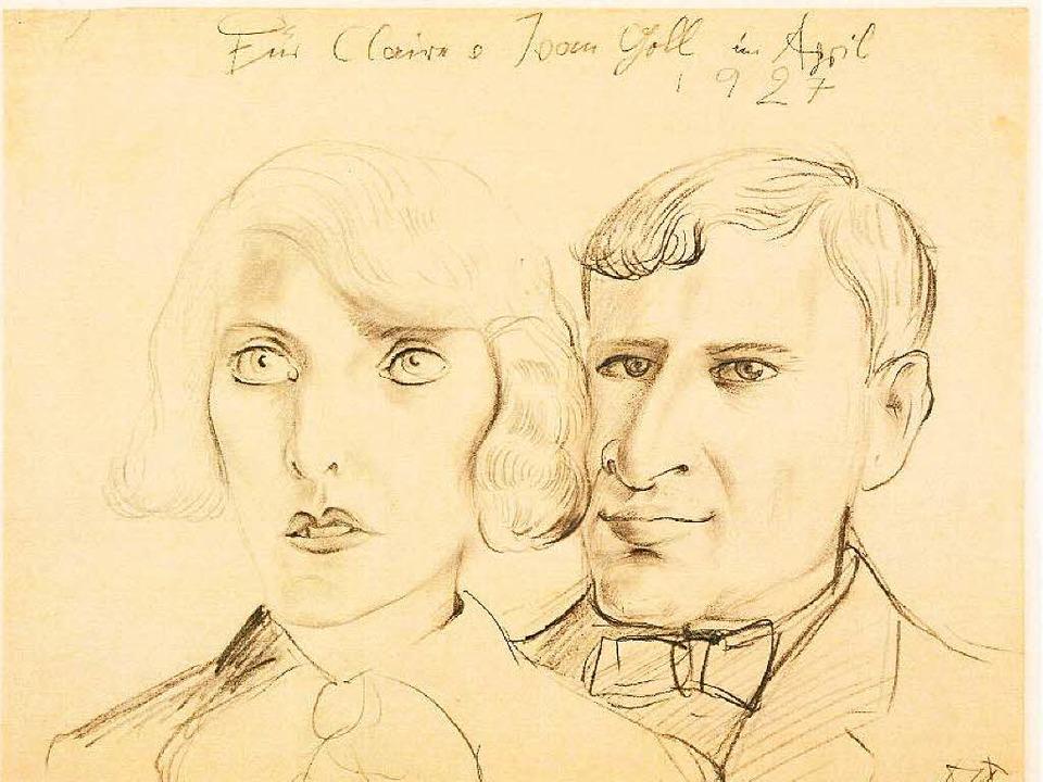 Fundstück:Claire und Yvan Goll  | Foto: Deutsches Literaturarchiv Marbach