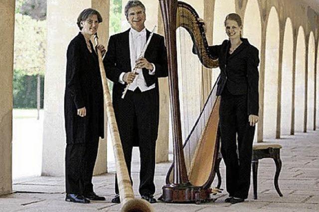 Das Trio Aperto spielt Werke von Scarlatti und Spohr