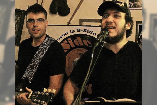 Kneipenkonzert mit B-Side im Nellie Nashorn