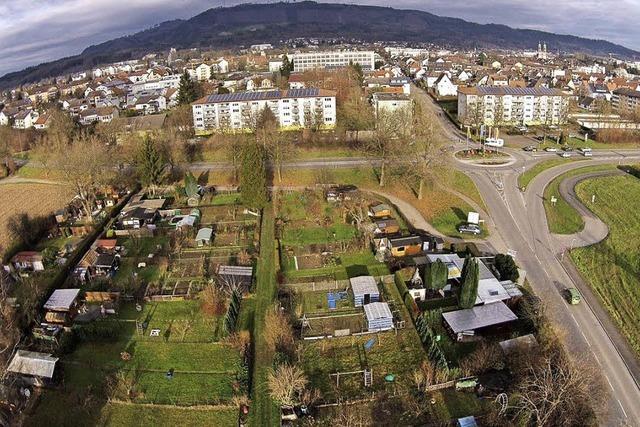 """Der """"Gettnauer Boden"""" nahe des Zolls könnte zum Gewerbegebiet werden"""
