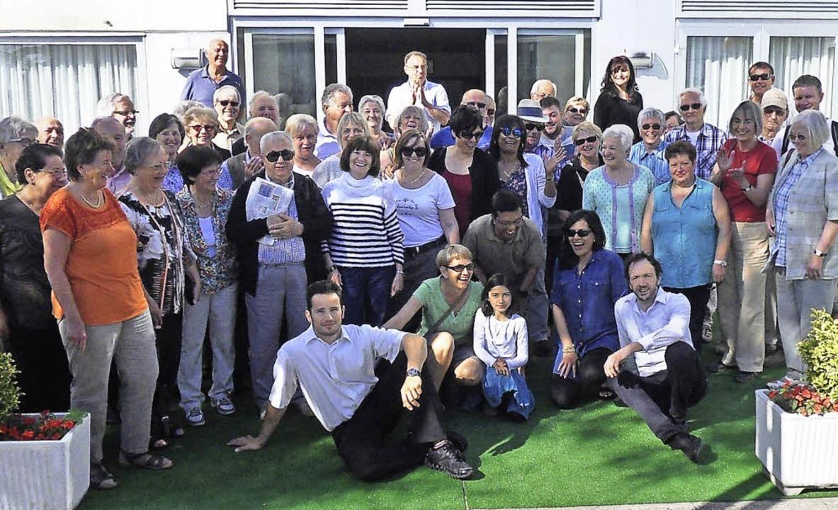 Sichtlich Spaß hatten die Teilnehmer a... in Lörrachs Partnerstadt Senigallia.   | Foto: zvg