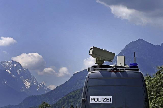 Merkel verteidigt Aufwand für G-7-Treffen