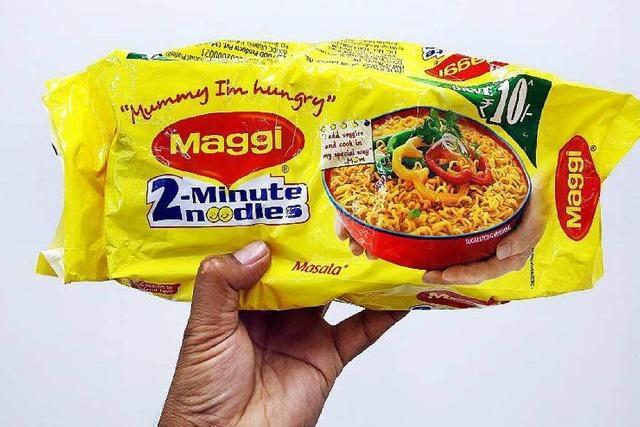 Indien: Nestlé nimmt Nudelsuppe vom Markt – bleiverseucht