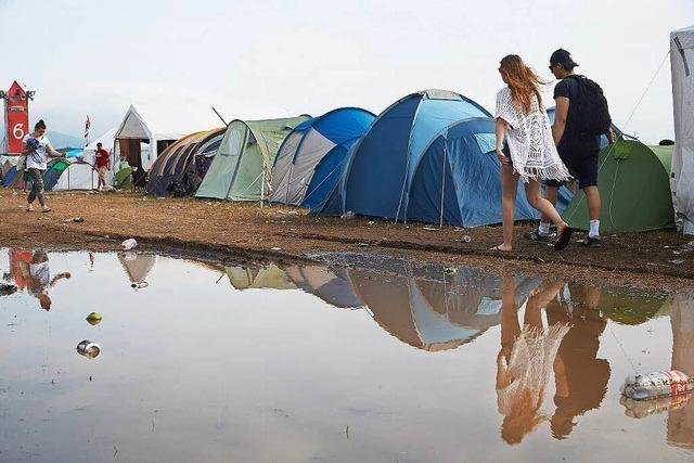 Unwetter: Blitze verletzen 33 Menschen bei