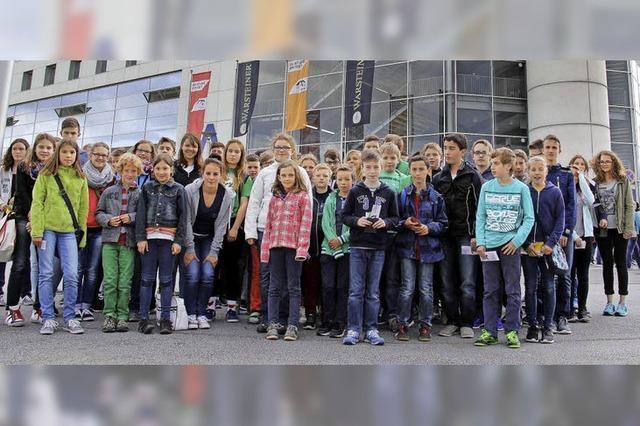 Zu Besuch in der Handballarena