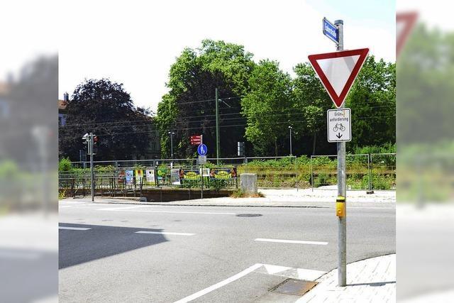 RADSCHLAG: Bequem über die viel befahrene Belchenstraße