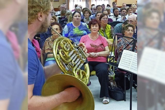 Freiburger Musiker waren in Tel Aviv zu Besuch