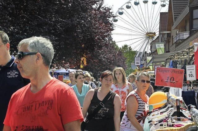 Das Cityfest lockt die Besucher an