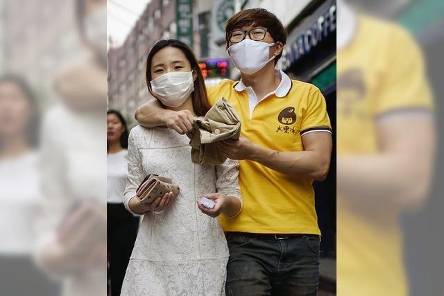 Die Angst vor dem Mers-Virus geht in Südkorea um