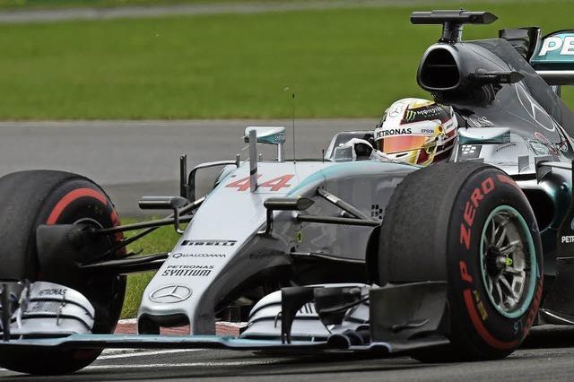 Lewis Hamilton ist zurück