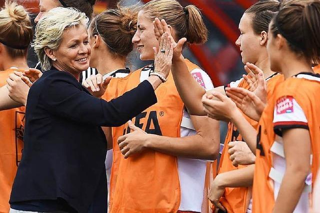DFB-Frauen deklassieren Elfenbeinküste mit 10:0