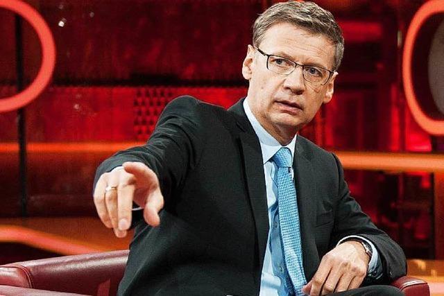 Günther Jauch hört mit der Talkshow in der ARD auf