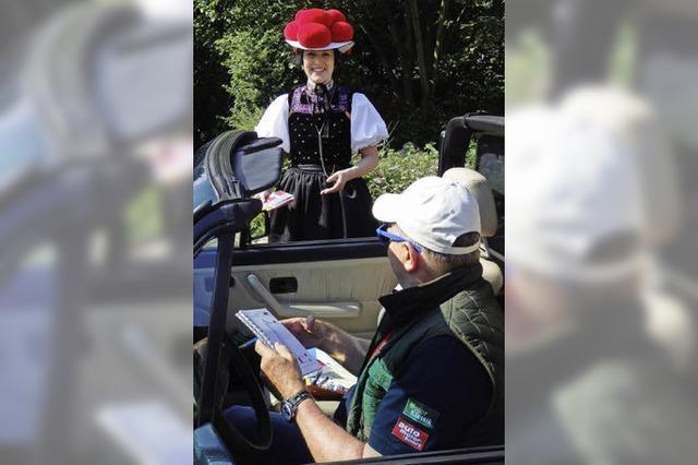 Unterwegs im Golf Cabrio auf der Paul-Pietsch-Classic 2015