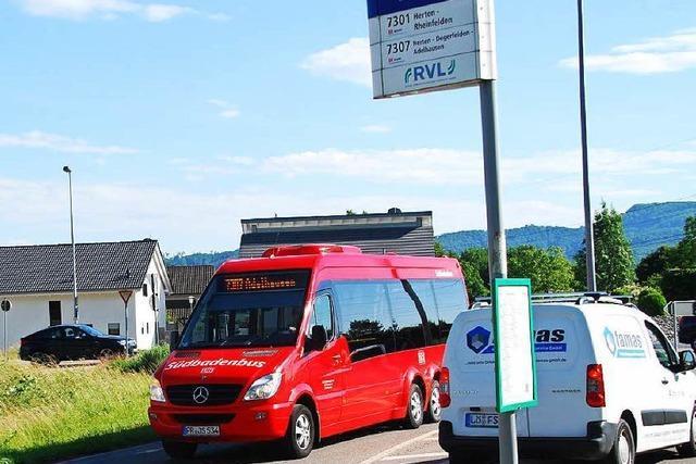 Buslinie 7307 könnte länger werden