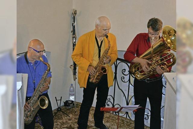 Jazz vom Feinsten im Treppenwinkel