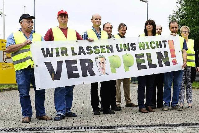 Mitarbeiter der Post streiken auch in Freiburg