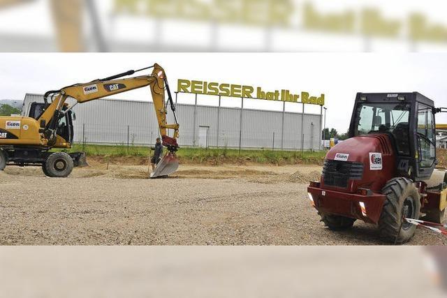Baubeginn beim DRK