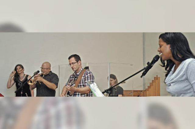 Ein Gospelkonzert mit internationaler Besetzung