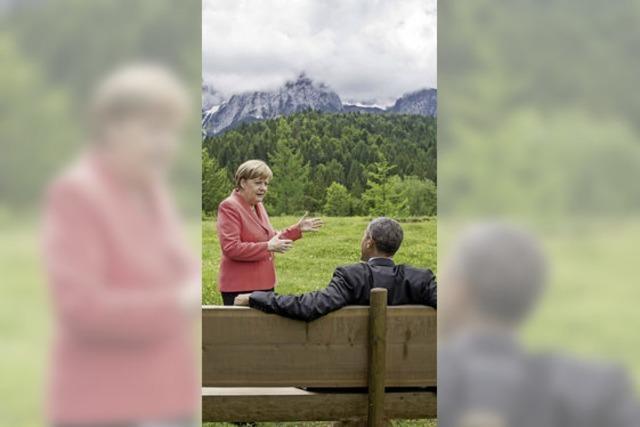 Merkel setzt beim Klima Akzente