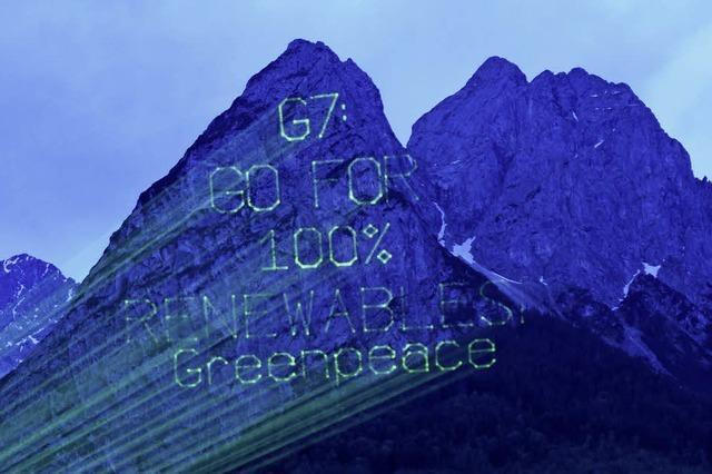 G 7 einigen sich auf Klimaziel