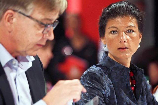 Wagenknecht und Bartsch sollen Linksfraktion führen
