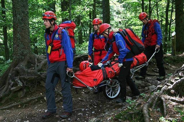 Erneuter Bergwacht-Einsatz auf Kybfelsen-Trail