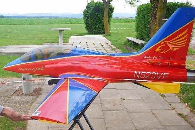 Modellflugzeug löst Suchaktion am Kaiserstuhl aus