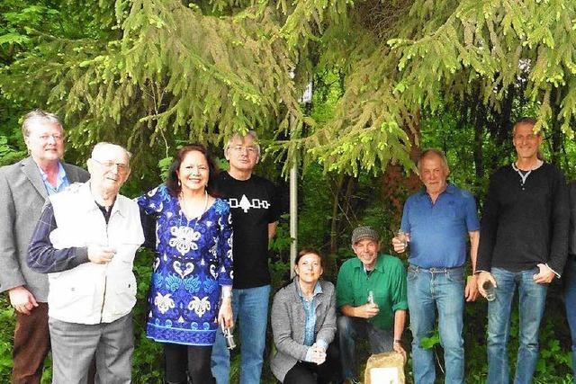 Deutsch-indianisches Treffen bei Dundenheim