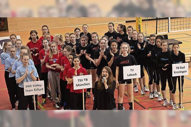 Erfolg für Volleyballerinnen