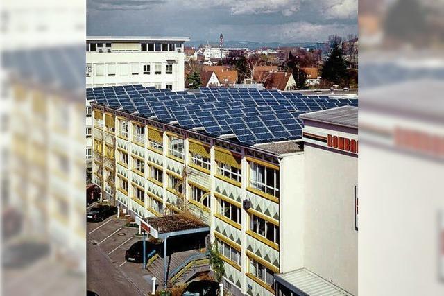 Per Rad geht es am Samstag zu den fünf stadtnahen Photovoltaik-Anlagen des Freiburger Vereins Fesa.