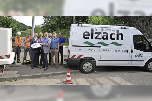 LED beleuchten bald Elzachs Straßen