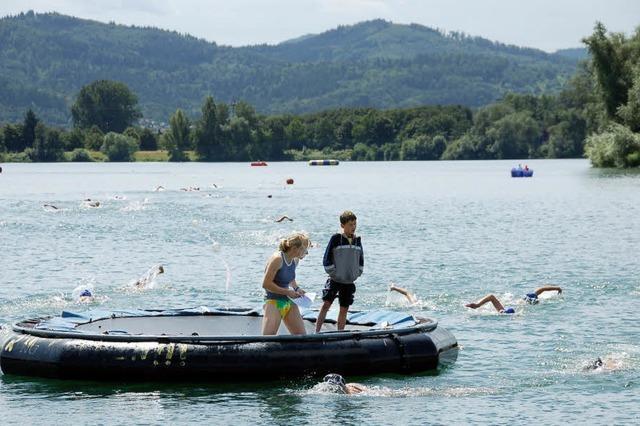 Gifizsee wird Schwimmarena