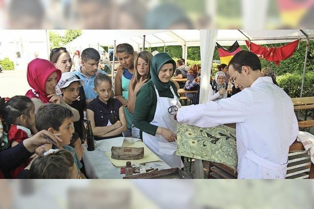 Kermes mit türkischer Kunst und Kulinarik