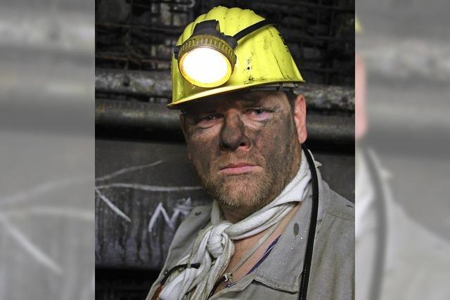 Der Letzte macht im Kohlebergwerk das Licht aus