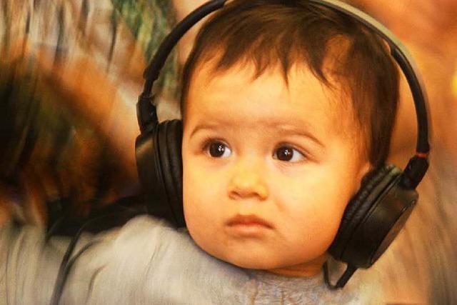 In New York gehen Babys jetzt zum DJ-Kurs