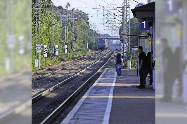 Stadt sieht Schuld bei Bahn