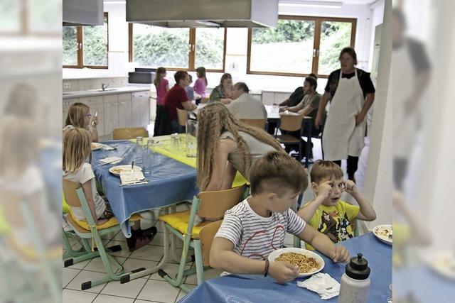Alte Schulküche wird zur Mensa