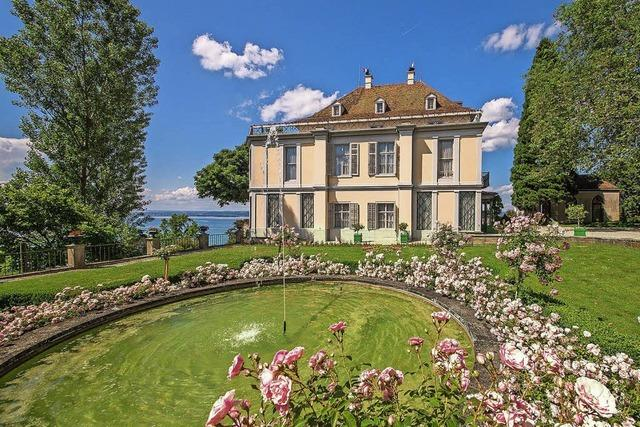 Schloss Arenenberg in Salenstein am Bodensee