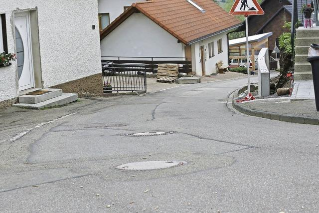 Schmittengraben wird im Sommer grundlegend saniert