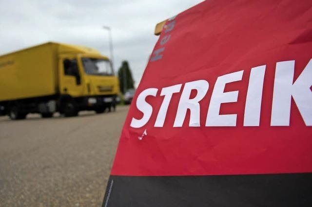 Auch in Lahr streiken die Briefträger nun unbefristet