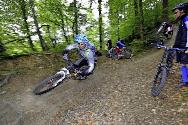 Gefährliche Fallen für Mountainbiker