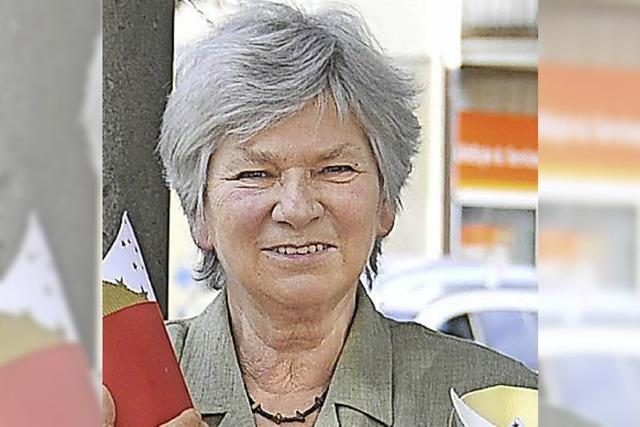 Altstadträtin Renate Kiefer wird 80