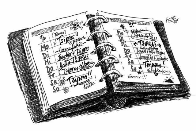 Merkels Terminkalender